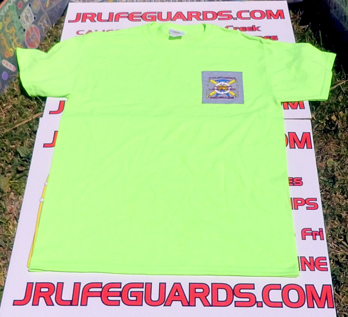 JG GREEN T-SHIRT, SHORT-SLEEVE